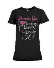 December Girl Premium Fit Ladies Tee thumbnail