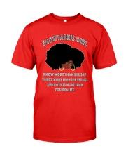 Black Girl Sagittarius Classic T-Shirt front