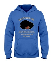 Black Girl Sagittarius Hooded Sweatshirt thumbnail