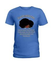 Black Girl Sagittarius Ladies T-Shirt thumbnail