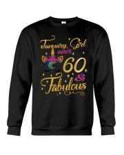 January Girl Fabulous And Over 60 Crewneck Sweatshirt thumbnail