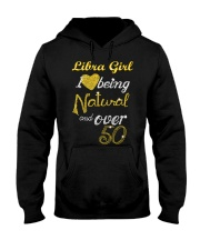 Libra Girl Natural And Over 50 Hooded Sweatshirt thumbnail