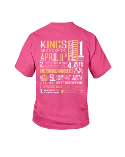 April Birthday T Shirts