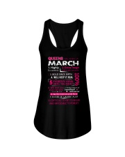 March Queens - Special Edition Ladies Flowy Tank thumbnail