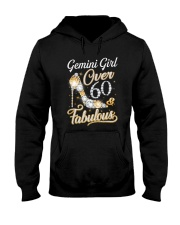 Gemini Girl Fabulous And Over 60 Hooded Sweatshirt thumbnail