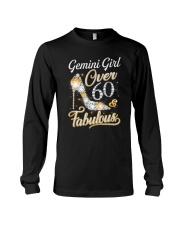 Gemini Girl Fabulous And Over 60 Long Sleeve Tee thumbnail