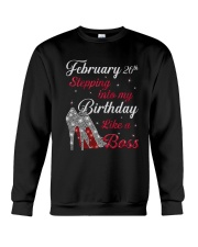 February 26th Crewneck Sweatshirt thumbnail
