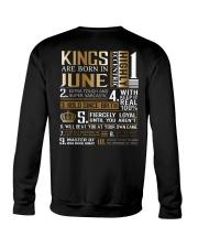 Kings Are Born In June Crewneck Sweatshirt thumbnail