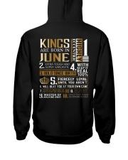Kings Are Born In June Hooded Sweatshirt thumbnail