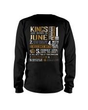 Kings Are Born In June Long Sleeve Tee thumbnail