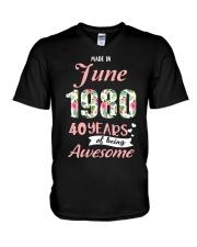 June Girl - Special Edition V-Neck T-Shirt thumbnail