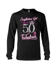 Sagittarius Girl Fabulous And Over 50 Long Sleeve Tee thumbnail