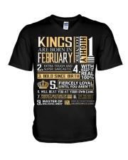 February King V-Neck T-Shirt thumbnail