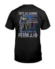 Febbraio Classic T-Shirt back