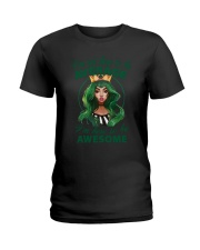 I'm Here To Be Awesome Ladies T-Shirt thumbnail