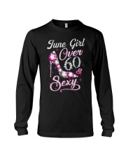 June Girl Sexy And Over 60 Long Sleeve Tee thumbnail