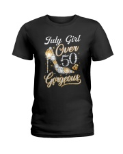 July Girl Gorgeous And Over 50 Ladies T-Shirt thumbnail