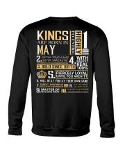 Kings Are Born In May Crewneck Sweatshirt thumbnail