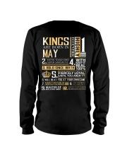 Kings Are Born In May Long Sleeve Tee thumbnail