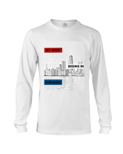 MY STORY BEGINS IN CHICAGO Long Sleeve Tee thumbnail