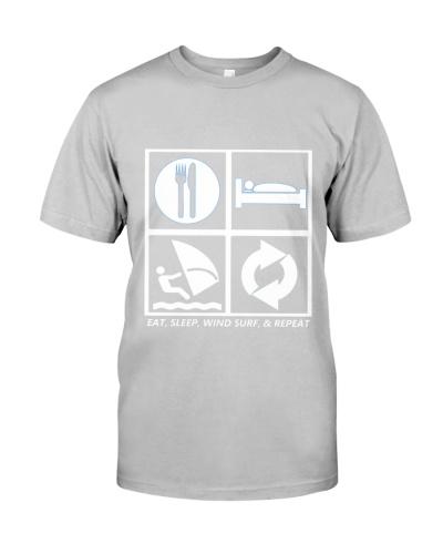 EAT SLEEP WIND SURF AND REPEAT