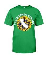 CALIFORNIA STRONG  Classic T-Shirt front