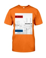 MY STORY BEGINS IN JACKSONVILLE Classic T-Shirt front