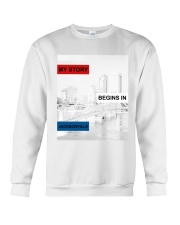 MY STORY BEGINS IN JACKSONVILLE Crewneck Sweatshirt tile
