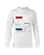 MY STORY BEGINS IN JACKSONVILLE Long Sleeve Tee tile