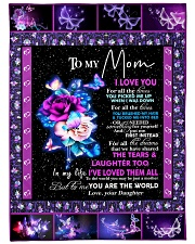 "Quilt Mom Limited Large Fleece Blanket - 60"" x 80"" front"