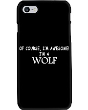 WOLFS ARE AWESOME  Phone Case thumbnail