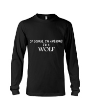 WOLFS ARE AWESOME  Long Sleeve Tee thumbnail