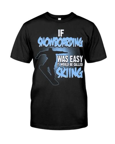 SNOWBOARDERS SHIRT EASY SNOWBOARDING