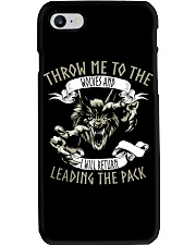 THROW ME TO THE WOLVES  Phone Case thumbnail
