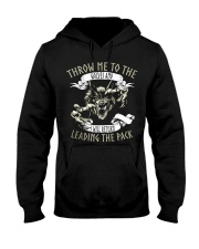 THROW ME TO THE WOLVES  Hooded Sweatshirt thumbnail