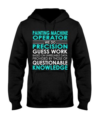 CUTE PAINTING MACHINE OPERATOR WE DO PRECISION