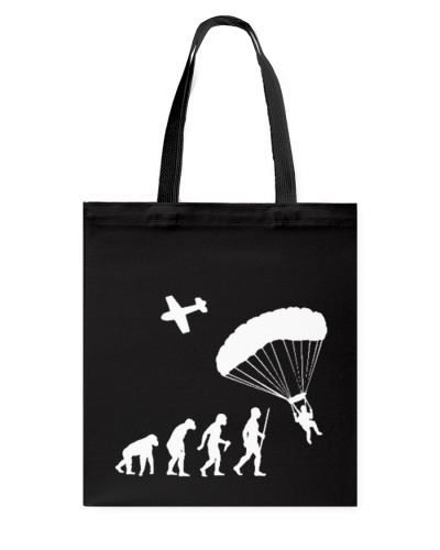 EVOLUTION OF MAN SKY DIVING FUNNY CUTE GIFT