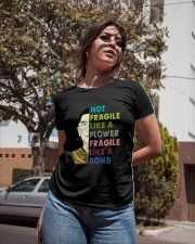 NOT FRAGILE LIKE A FLOWER Ladies T-Shirt apparel-ladies-t-shirt-lifestyle-02