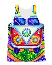 Hippie Soul All-over Unisex Tank front