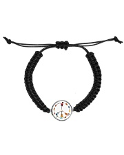 GUITAR AND PEACE Cord Circle Bracelet thumbnail