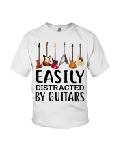 EASILY DISTRACTED BY GUITARS MUG Youth T-Shirt thumbnail