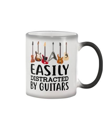 EASILY DISTRACTED BY GUITARS MUG