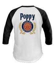 Poppy - A fine man and patriot Baseball Tee thumbnail