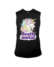 Death Metal Unicorn Sleeveless Tee thumbnail