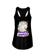 Death Metal Unicorn Ladies Flowy Tank thumbnail