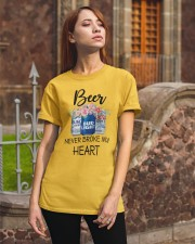Beer Never Broke My Heart Classic T-Shirt apparel-classic-tshirt-lifestyle-06