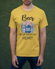 Beer Never Broke My Heart Classic T-Shirt apparel-classic-tshirt-lifestyle-front-42