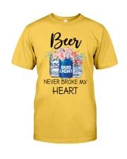 Beer Never Broke My Heart Classic T-Shirt front