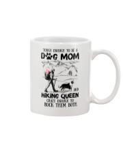 Tough enough to be a Dog mom and Hiking queen Mug thumbnail