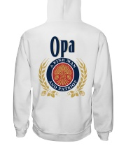 Opa - A fine man and patriot Hooded Sweatshirt thumbnail